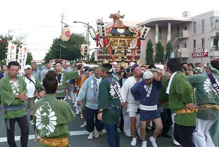 迫力の大神宮神輿