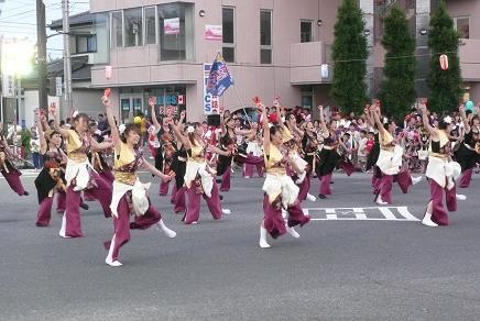 ソーラン「東海花舞」