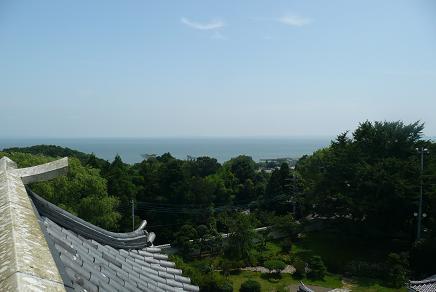 展望台からの霞ヶ浦