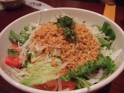 納豆とじゃがいものサラダ