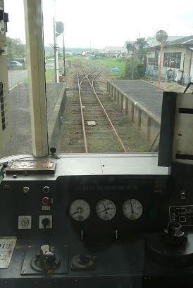 KR-505の運転席