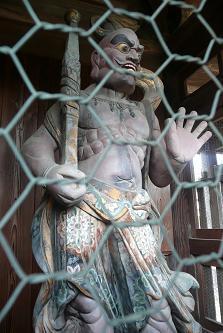 左の仁王像