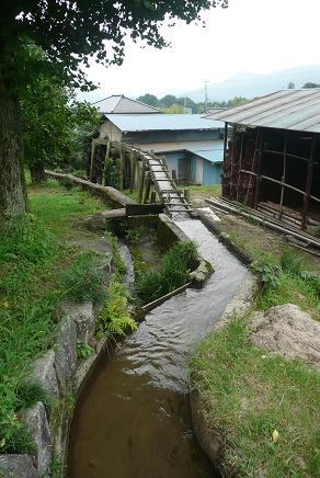 水車への水路