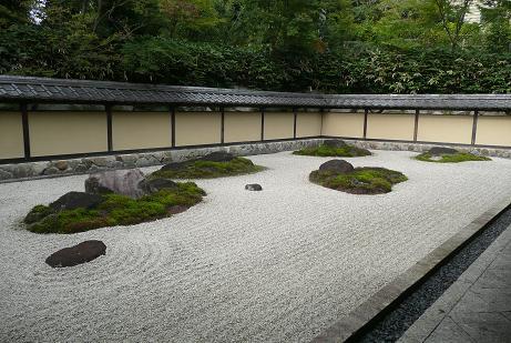 立派な石庭
