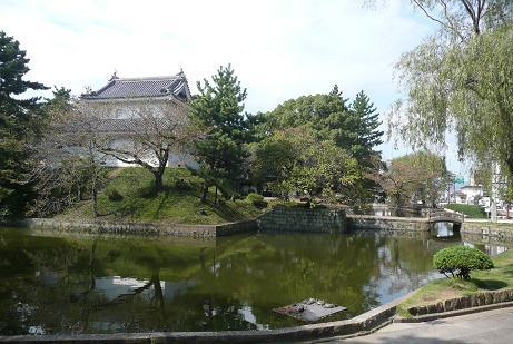 濠や櫓を残す土浦城
