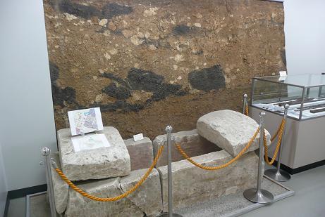 鉾の宮古墳の箱式石棺