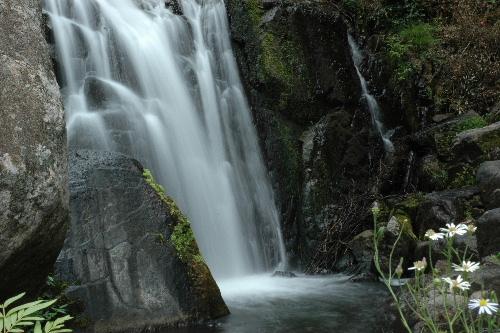 正面からの滝