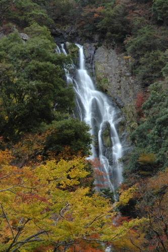 神庭の滝 全景