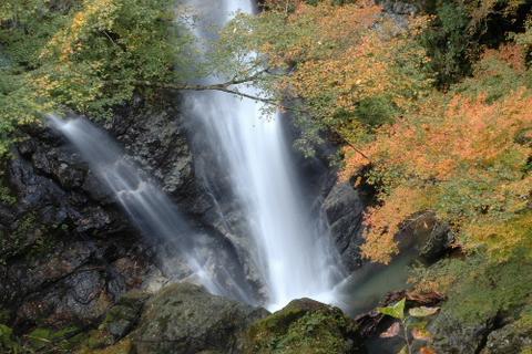 下段の滝と脇水
