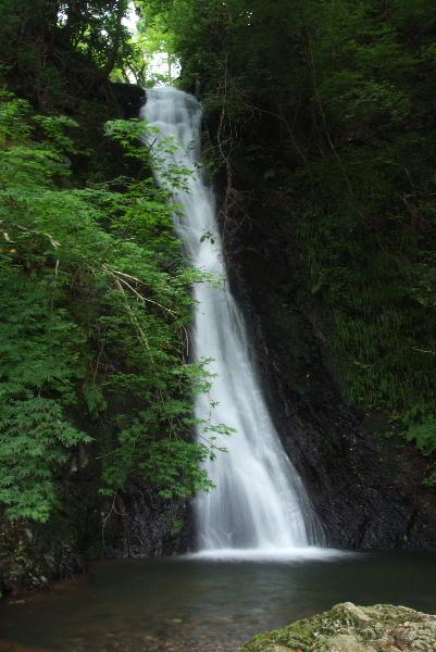 横野滝 第2の滝