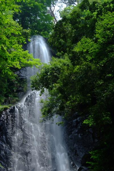 滝上段・・・まずまずの水量