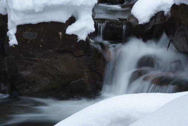 雪と流れはもっと難しい(^▽^;)