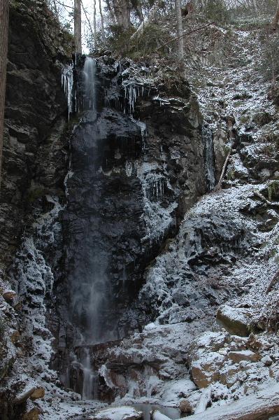 白髭滝全景・・・お見苦しいですがm(__)m