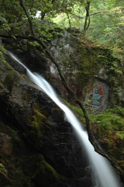 上の滝。  枝が・・・・(ーー;)