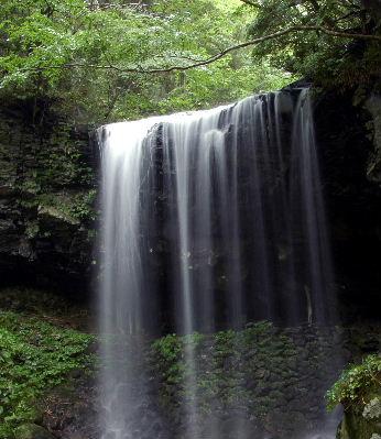 端正な滝です