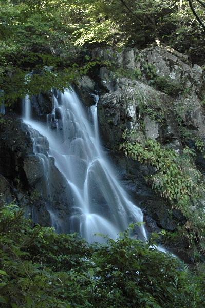二つ滝 右手の滝