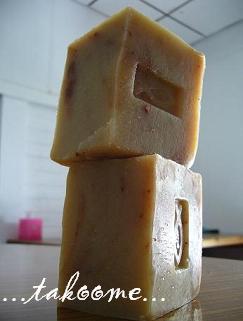 これは年末に作った、超豪華ククイナッツ石けん♪