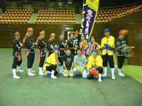 琉球国祭り太鼓の皆様。