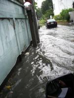 いつもの洪水