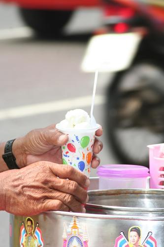 タイのアイスクリーム