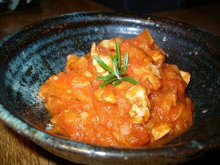 トマト味、野菜の煮っ転がし