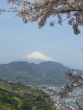 絶景です。富士山