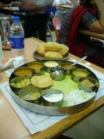初インド食事
