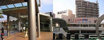 近鉄生駒駅付近