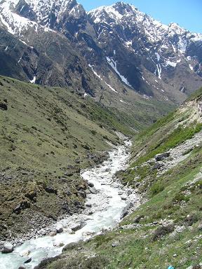 この水が・・ガンジス川に・・・・