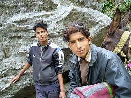 馬子と友達