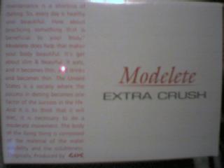 Modelete EXTRA CRUSH