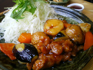 大戸屋鶏黒酢