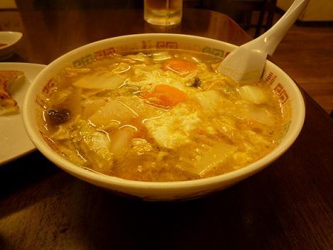 トントン酸辣油麺(サンランタンメン)