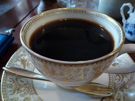 ライブ後のコーヒー