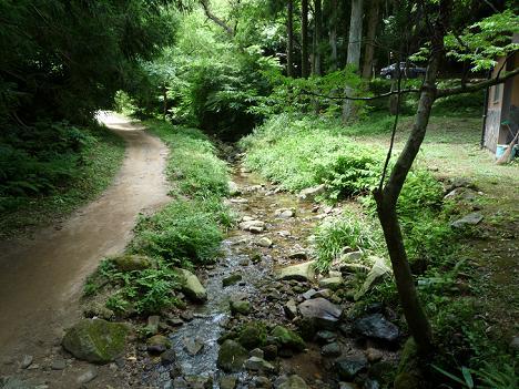 龍源寺間歩へ