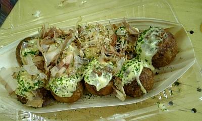 たこ焼き(からしマヨネーズ味)