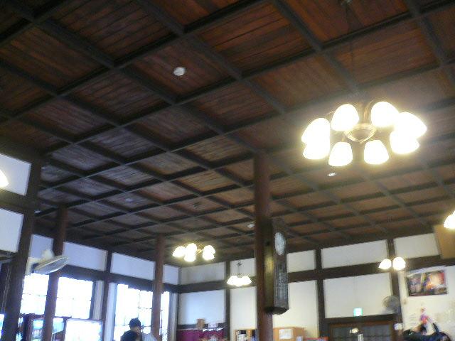 レトロな天井