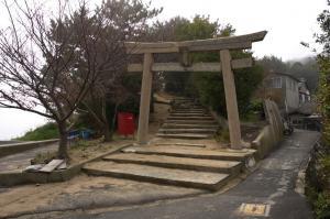 加茂神社(高松市男木島町)の鳥居