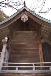 加茂神社の奥殿