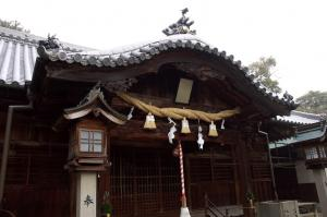 岩田神社の本殿