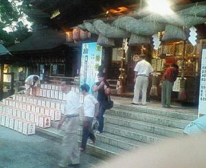 讃岐一宮 田村神社 燈篭祭
