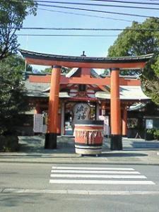 宮崎八幡宮(随身門)