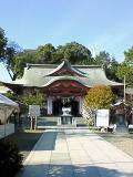 宮崎八幡宮(拝殿)