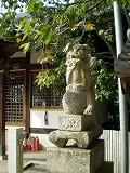 旭山神社(狛犬)