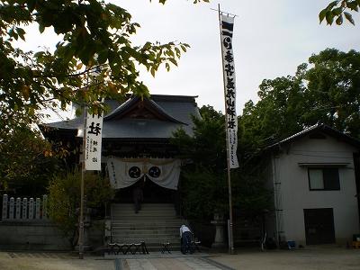 旭山神社(拝殿)