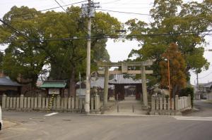 飯田郷 郷社 岩田神社