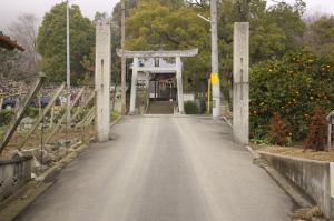 桃太郎神社の鳥居