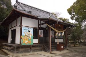 桃太郎神社の本殿