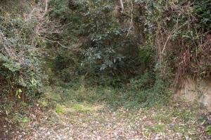 女木島の洞窟(現在使われていないところ)