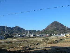 六ツ目山と堂山